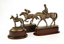 bronze-finish-horses
